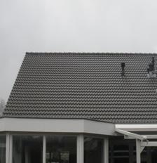 Mijn dak voor de zonnepanelen zijn geinstalleerd